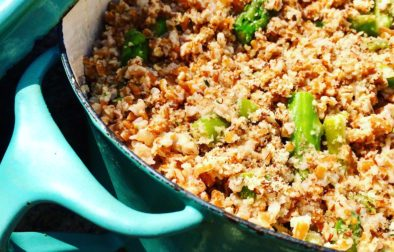 Tahini, Asparagus & Bulgar Wheat Salad