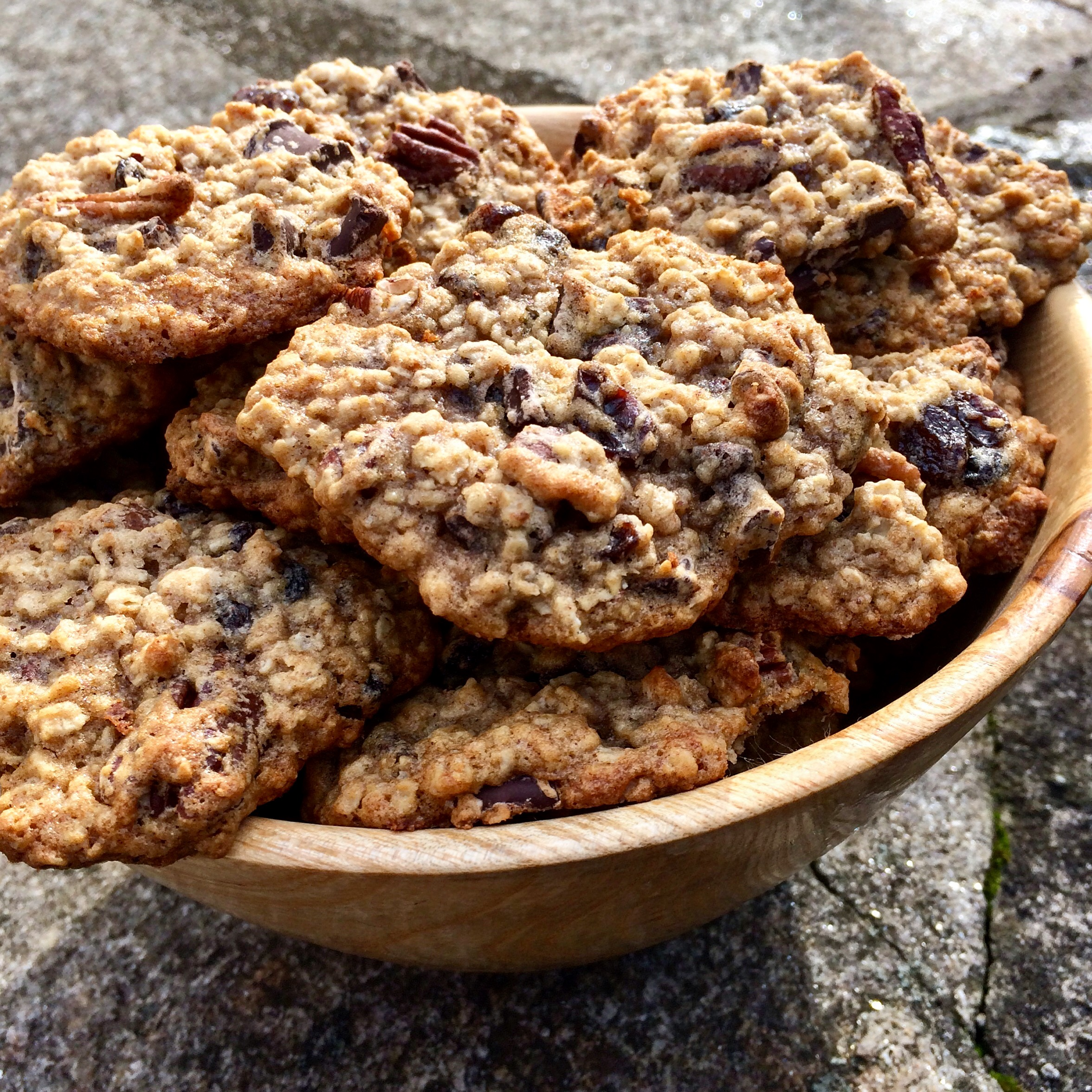 Chewy Oatmeal Applesauce Cookies