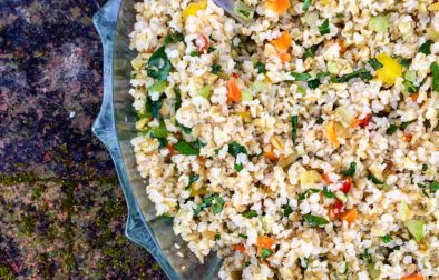Lemony Dill Freekeh Salad